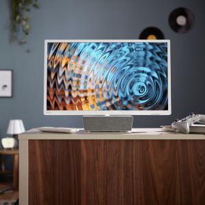 Niewielki telewizor z głośnikiem bluetooth Philips 5863. Fot. Philips