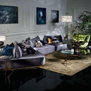 W kolekcji Roberto Cavalli Home znajdują się meble, ceramika, porcelana, szkło, lampy, pościel oraz poduszki. Fot. Archdzieło
