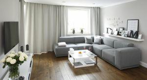 Narożnik to rozwiązanie, które sprawdzi się zarówno w małym, jak i dużym salonie. Trzebajedynie poszukać modelu pasującego do wielkości wnętrza.