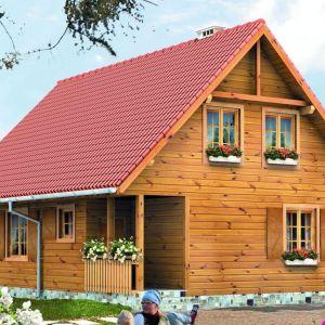 Dom drewniany. Projekt: arch. Tomasz Sobieszuk. Fot. Biuro Projektów MTM Styl