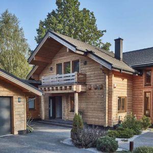 Dom z bali. Fot. Domy z Finlandii