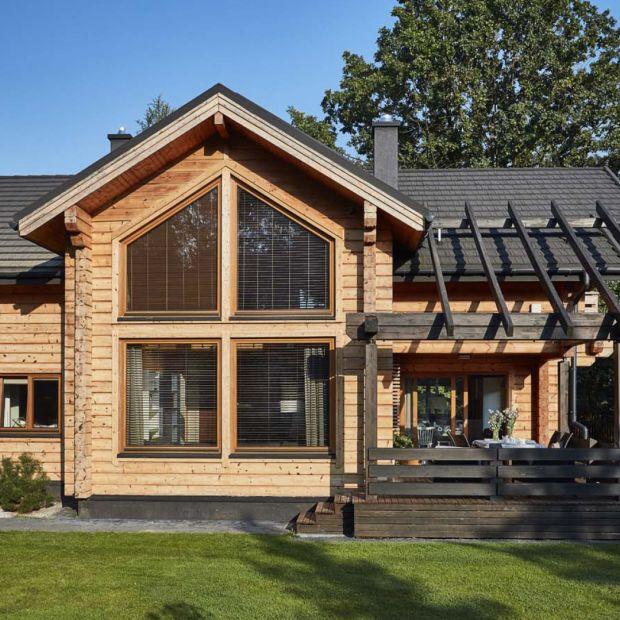 Dom z drewna: ciepły, tani i ekologiczny
