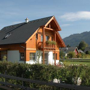 Dom drewniany. Fot. Wolf