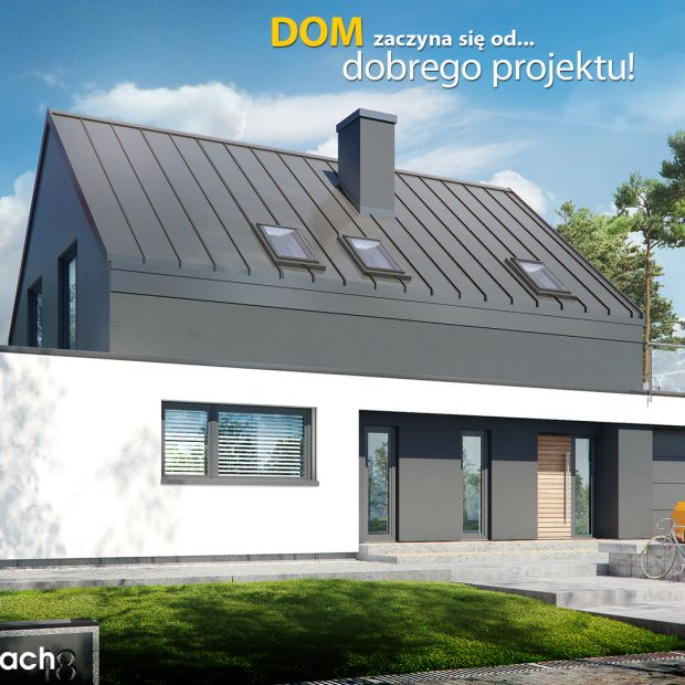 Komfort w nowoczesnym stylu. Zobacz projekt domu oraz aranżację wnętrz