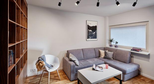 Małe mieszkanie - zobacz jak urządzono 40 metrów