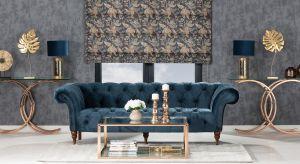 Złote naczynia i stoliki kawowe wychodzą na pierwszy plan w aranżacji. Poznaj najnowszy designerski trend i stwórz w swoim domu oryginalną przestrzeń w kolorze szlachetnego kruszcu!
