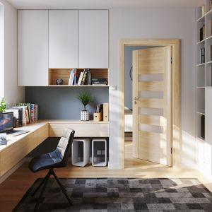 Modne drzwi w mieszkaniu: model Porta Koncept. Fot. Porta