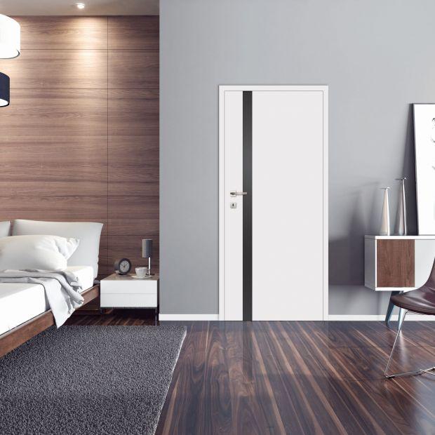 Modna sypialnia - zobacz 10 modeli drzwi