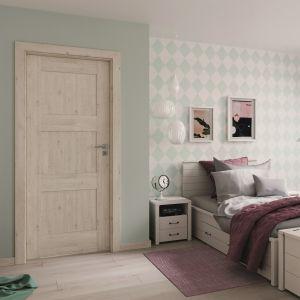 Drzwi Verte Premium odwzorowują kolor i strukturę drewna. Fot. Porta
