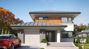 Kadyks to piękny, piętrowy dom o powierzchni użytkowej blisko 158 metrów kwadratowych. Jego wnętrze zaprojektowano bardzo nowocześnie i z dużym smakiem.