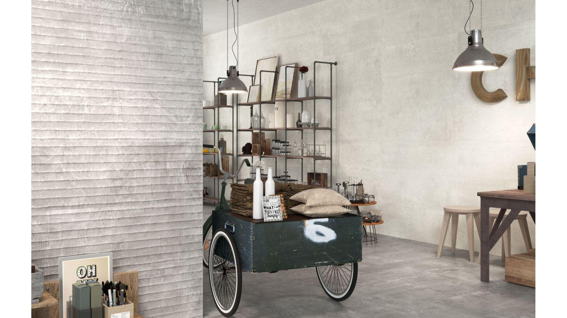 Nexo Grey 40x120 cm/MaxFliz. Produkt zgłoszony do konkursu Dobry Design 2019.