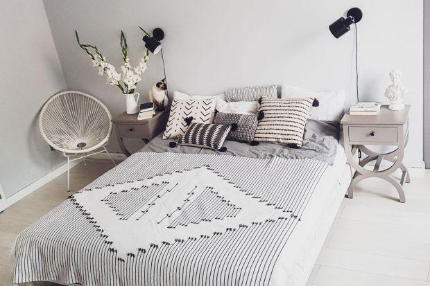 Metamorfoza wnętrza - zobacz sypialnię przez i po zmianie