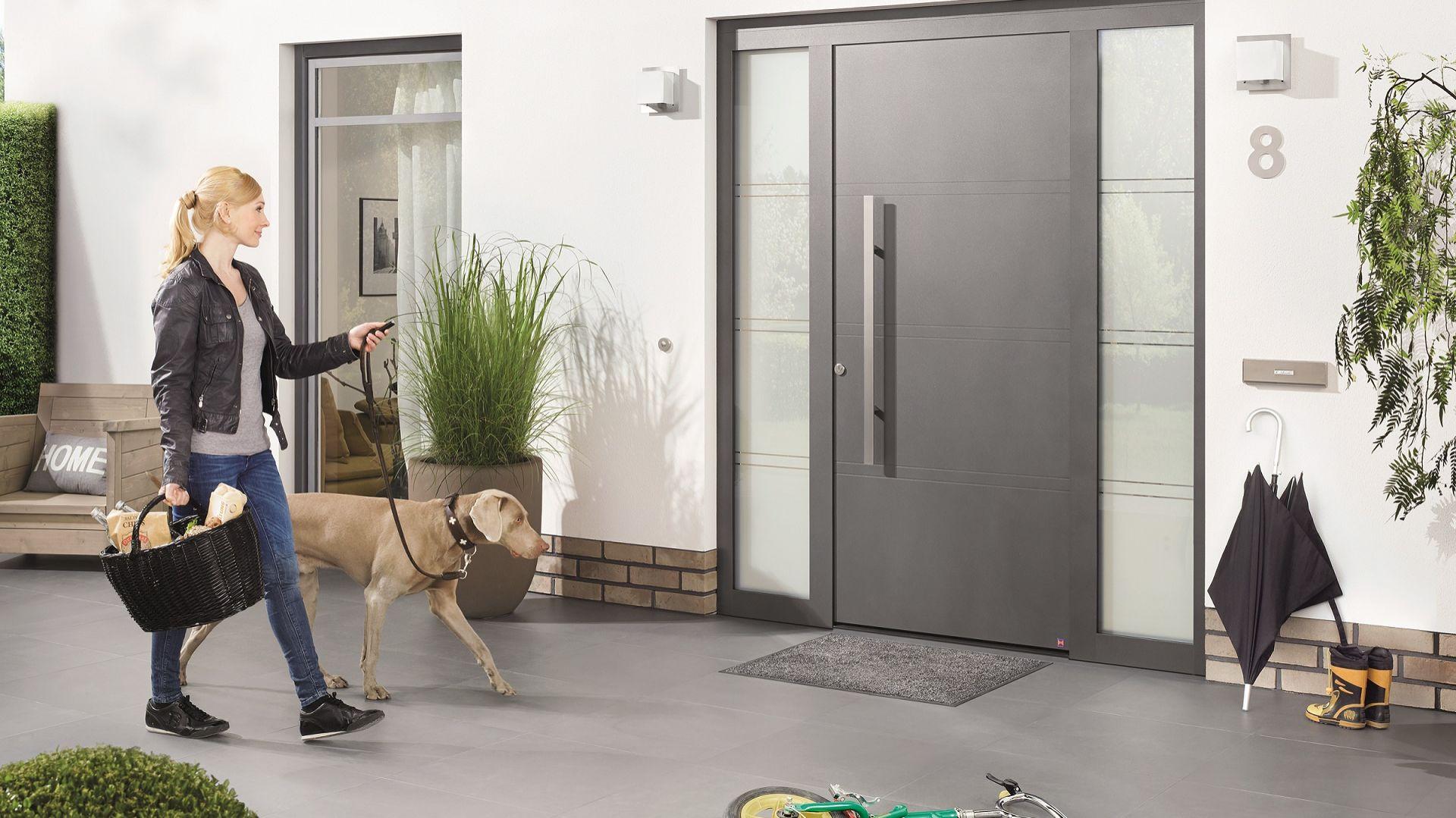 ThermoSafe firmy Hörmann – aluminiowe drzwi do domów energooszczędnych. Fot. Hörmann