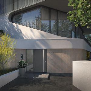 ThermoCarbon firmy Hörmann – aluminiowe drzwi do domów pasywnych. Fot. Hörmann