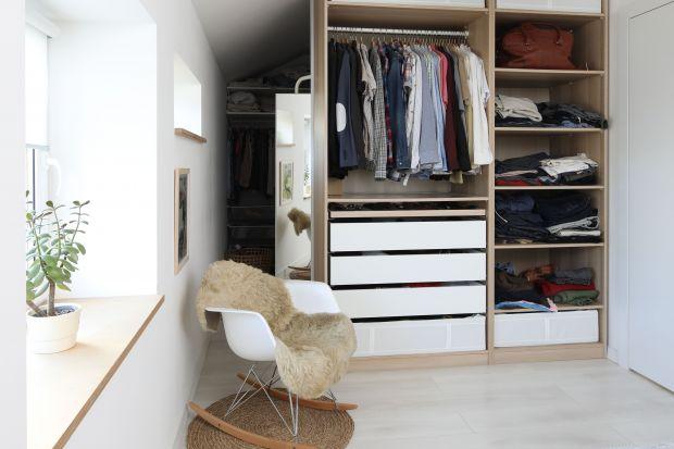 5 pomysłów na garderobę w sypialni