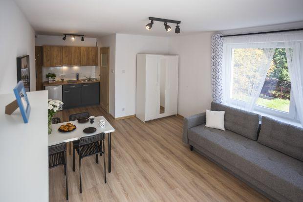 Małe mieszkanie - zobacz piękne wnętrze na wynajem