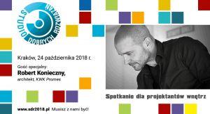 Już dzisiaj zapraszamy na kolejne wydarzenie z cyklu Studia Dobrych Rozwiązań! Tym razem spotykamy się wstolicy Małopolski!