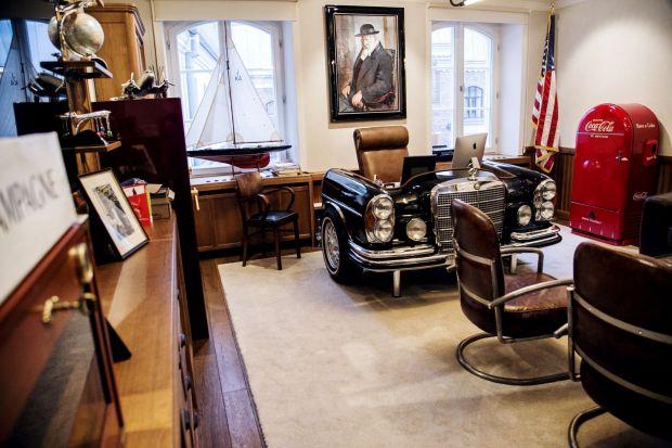 Biznesowa wizytówka rodem z lat 50. - zobacz biuro w nowojorskim stylu