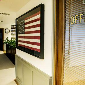 Wnętrze Placu Bankowego 1 - biuro zarządcy obiektu. Fot. Plac Bankowy 1