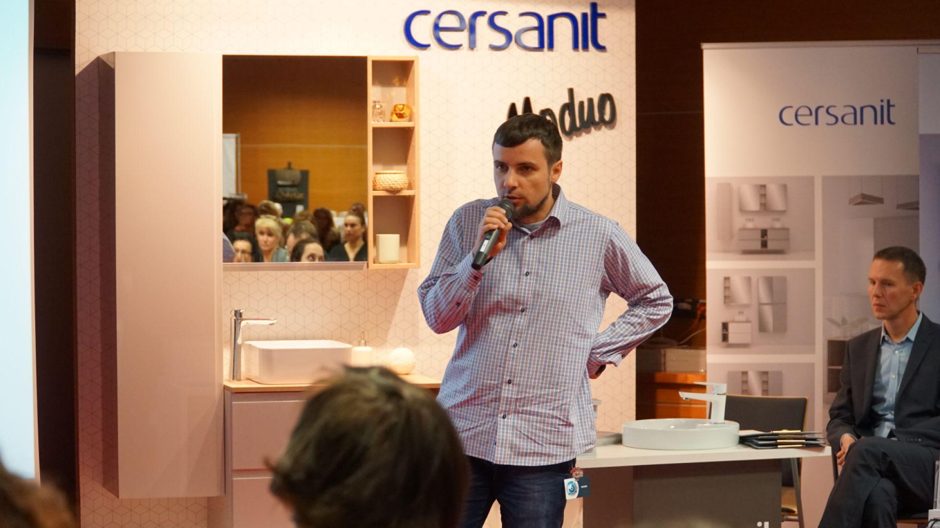 Piotr Stępniak z firmy Ceramika Paradyż