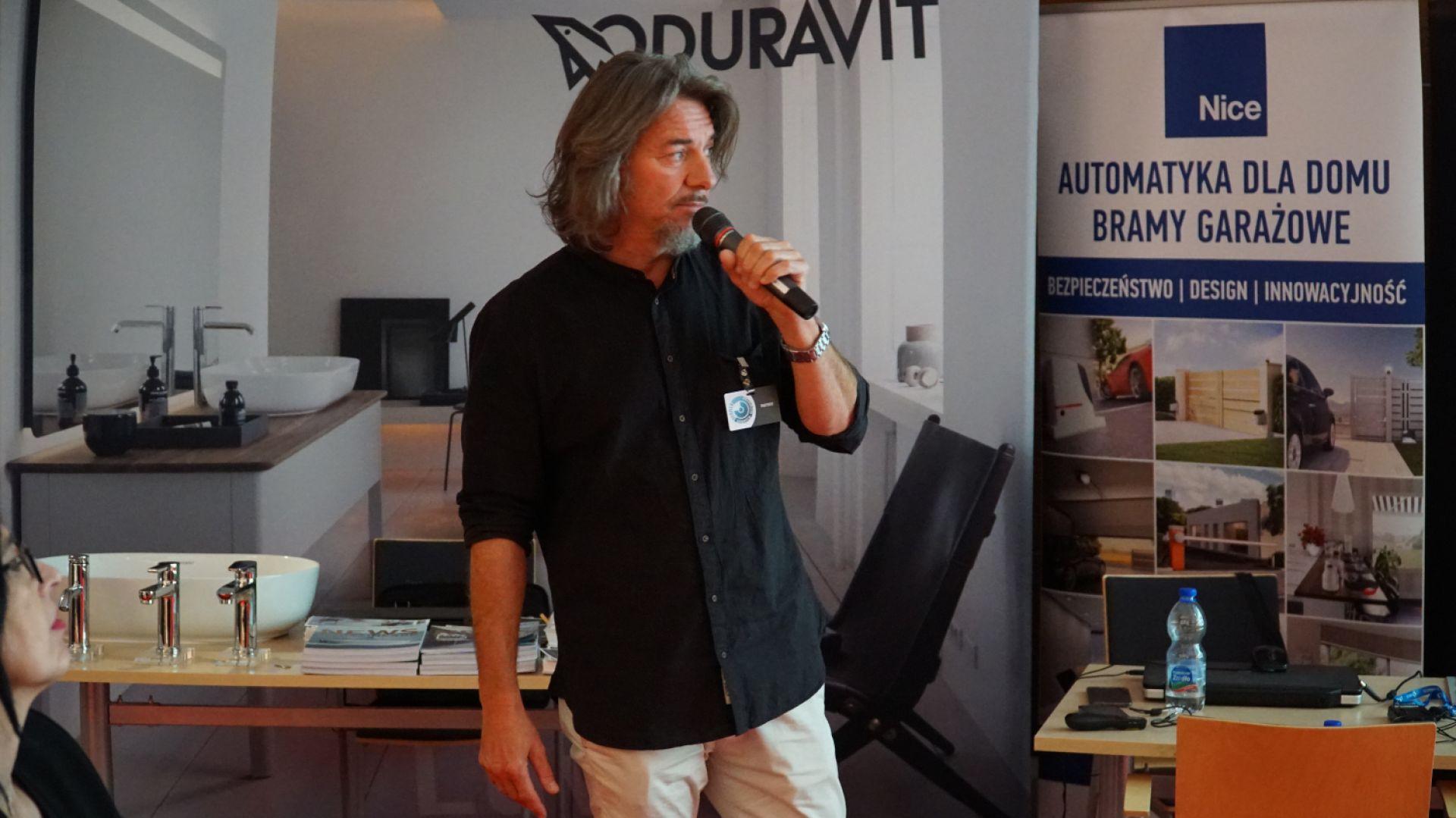 Jarosław Nowak z firmy Korner Design