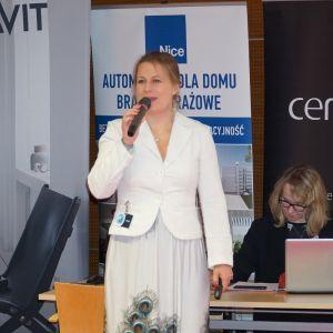 Prezentacja Katarzyny Tworek z firmy Aurora Technika Świetlna