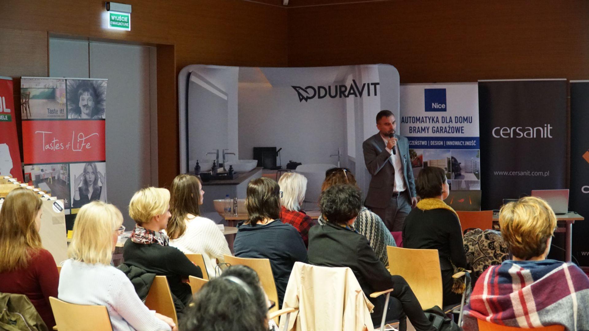 Marek Krzaczkowski, przedstawiciel firmy CAD Projekt