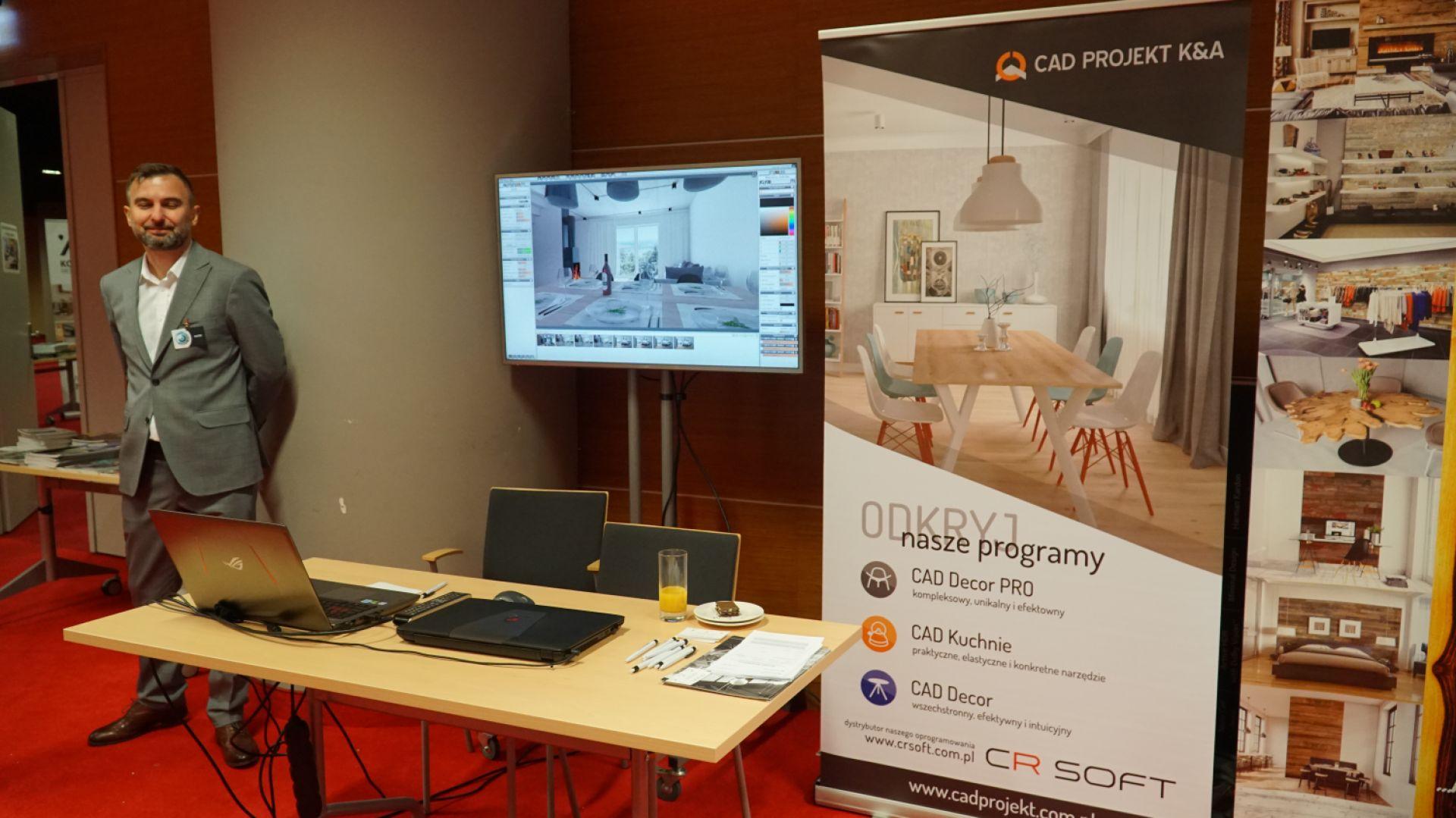Stoisko firmy CAD Projekt
