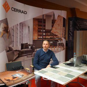 Stoisko Partnera Głównego, firmy Cerrad