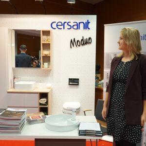 Stoisko Partnera Głównego, firmy Cersanit