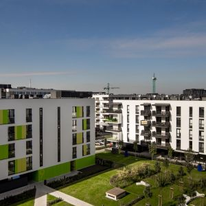 Architektom udało się zrealizować projekt mieszkania na Żoliborzu, które jest zarówno ciekawe, jak i funkcjonalne Projekt: The Space. Fot. Piotr Czaja