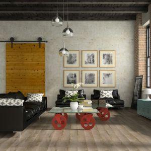 Mieszkanie urządzone z myślą o najmłodszych. Podłoga Galaxy 4V Dąb Chester. Fot. RuckZuck