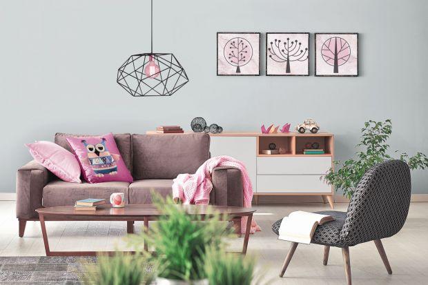 Ściany w salonie - 15 pomysłów na aranżację