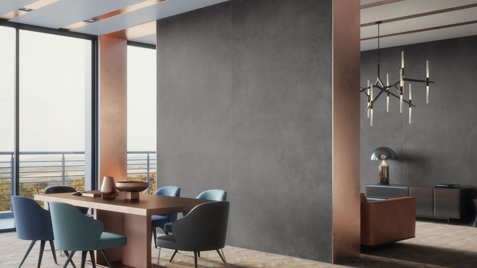 """Kolekcja Concrete marki Cerrad to dobry sposób na ścianę o """"betonowym"""" wyglądzie. Fot. Cerrad"""