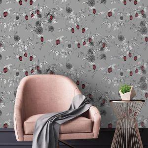 Kolekcja eleganckich tekstylnych tapet ściennych Fardis Muraspec zainspirowana mitycznym światem Shangri La. Tapety Shangri-La wykonane są na tekstylnym (bawełnianym) podkładzie. Fot. Muraspec