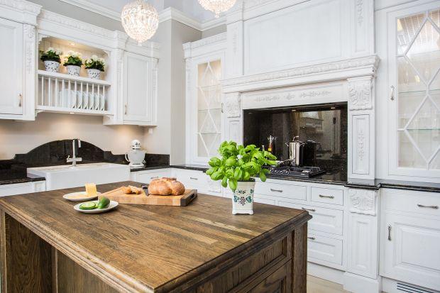 Blaty kuchenne - solidne i piękne drewno