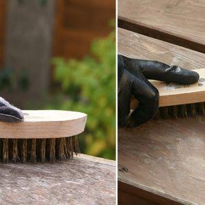 Renowacja drewnianych mebli w ogrodzie. Fot. Bondex