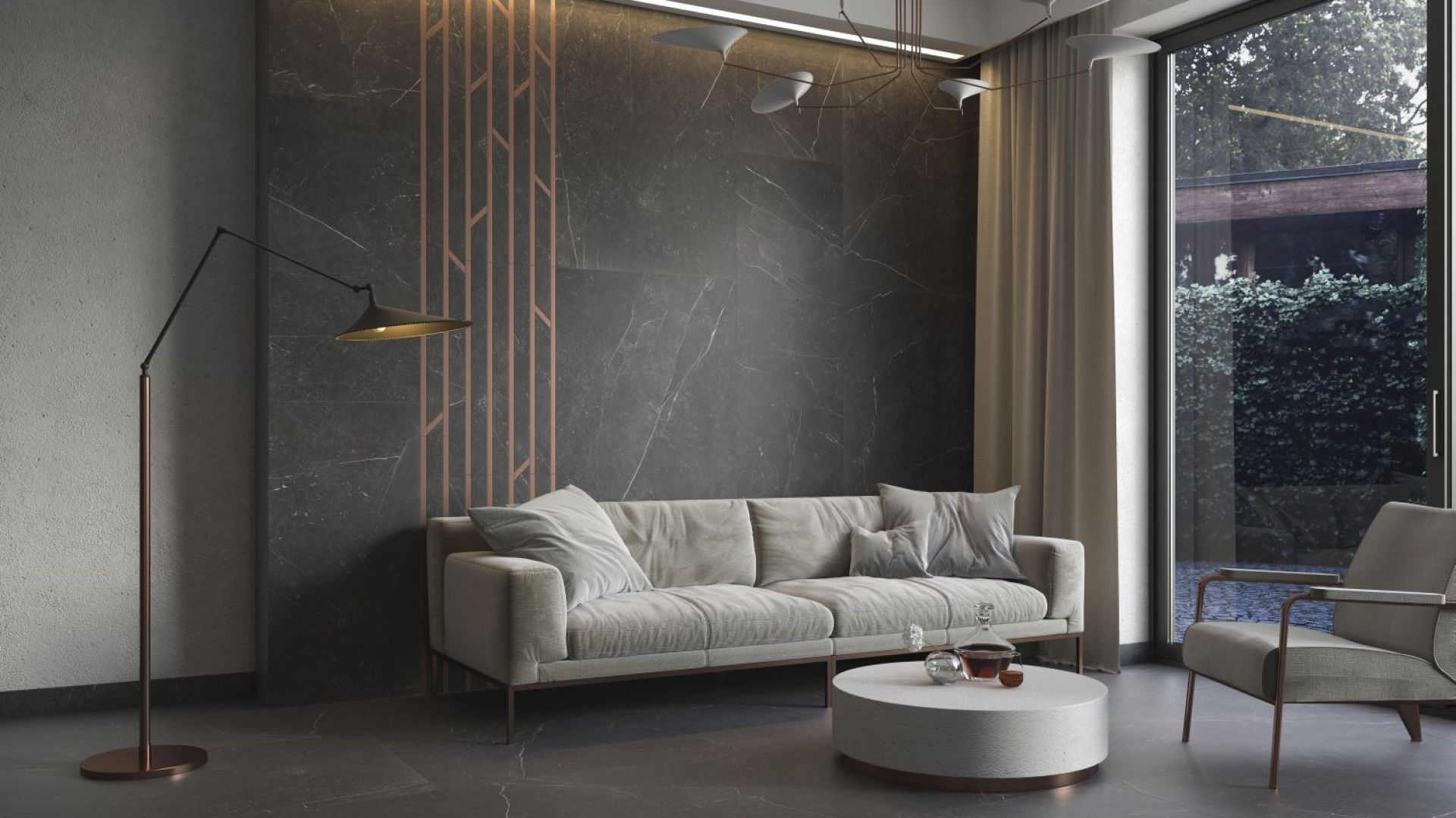 Wytworny minimalizm w wielkim formacie: kolekcja Barro marki Paradyż My Way. Fot. Ceramika Paradyż