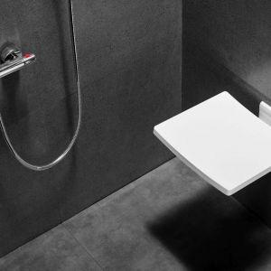 Siedzisko prysznicowe Active/Besco. Produkt zgłoszony do konkursu Dobry Design 2019.