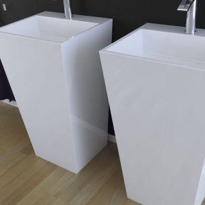 Umywalka Vera/Besco. Produkt zgłoszony do konkursu Dobry Design 2019.
