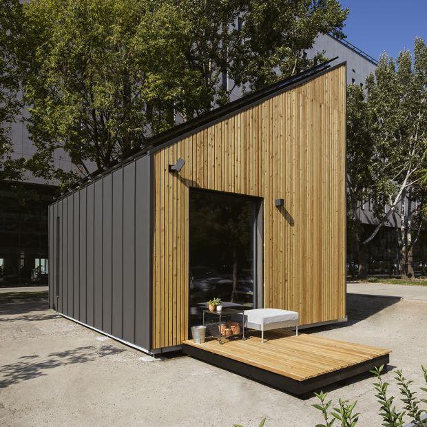 Mały dom - zobacz jak zamieszkać na 40 metrach