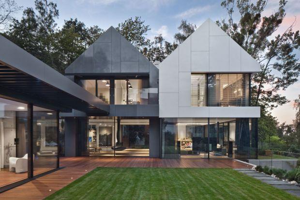 Luksusowy dom na nadmorskiej skarpie