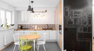 """Mieszkanie do totalnej """"demolki"""", niewielki budżet i odważni, otwarci na propozycje inwestorzy. Przed takim wyzwaniem stanęła projektantka tego bezpretensjonalnego, utrzymanego w skandynawskim stylu wnętrza."""
