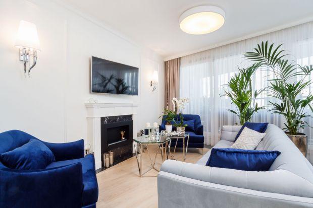 Piękne wnętrze - zobacz apartament w stylu glamour