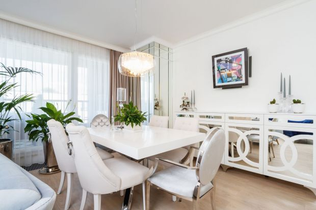 Biel i splendor - piękny apartament w stylu glamour