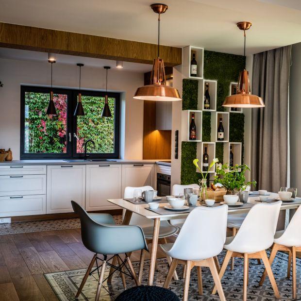 Niewielki dom w Małopolsce - piękne wnętrze w skandynawskim stylu