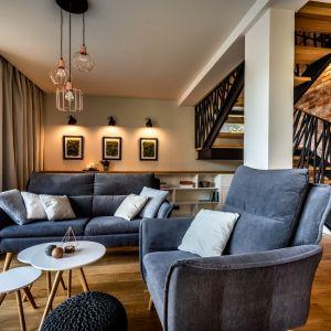 W aranżacji tego 93-metrowego domu w Krakowie prym wiedzie styl skandynawski. Projekt: Małgorzata Szpak. Fot. Lukas Patecki