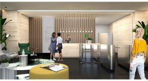 Efektowne i eleganckie części reprezentacyjne obiektów biurowych to ich najlepsza wizytówka. Nic więc dziwnego, że właścicielom biurowców zależy na przemyślanej, spójnej stylistycznie i zgodnej z wizerunkiem firmy koncepcji lobby.
