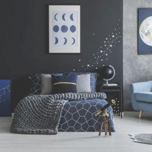 Sypialnia z motywem galaktycznym. Fot. Fotolia