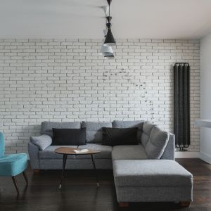 Małe mieszkanie - pomysły na kawalerkę. Projekt: Anna Nowak-Paziewska. Fot. Emi Karpowicz